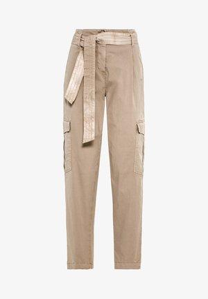 Pantalon cargo - hellbeige
