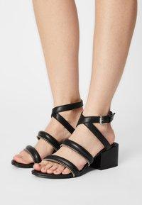 Diesel - SA-JAYNET - Sandals - black - 0