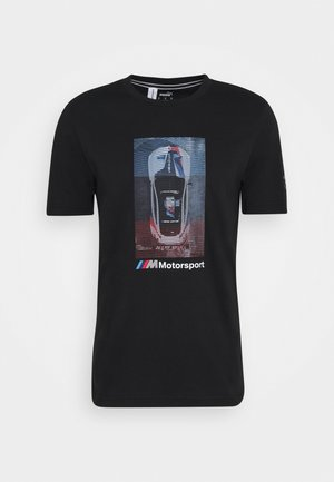 BMW GRAPHIC TEE - Print T-shirt - black