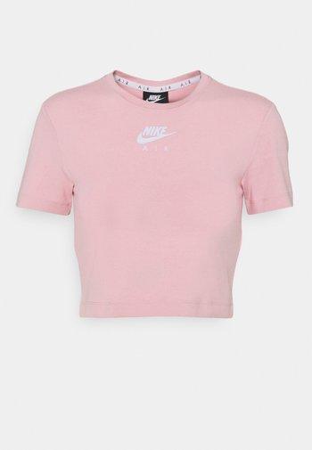 AIR TOP CROP - T-shirt imprimé - pink glaze/white
