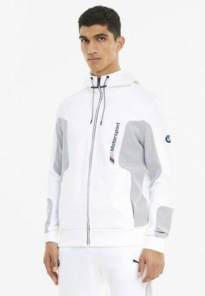 Zip-up sweatshirt - puma white