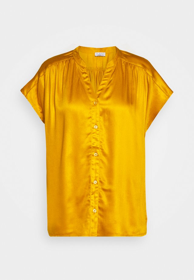 BLOUSE - Bluzka - gold