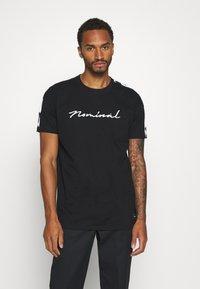 Nominal - RONNI TEE - Print T-shirt - black - 0