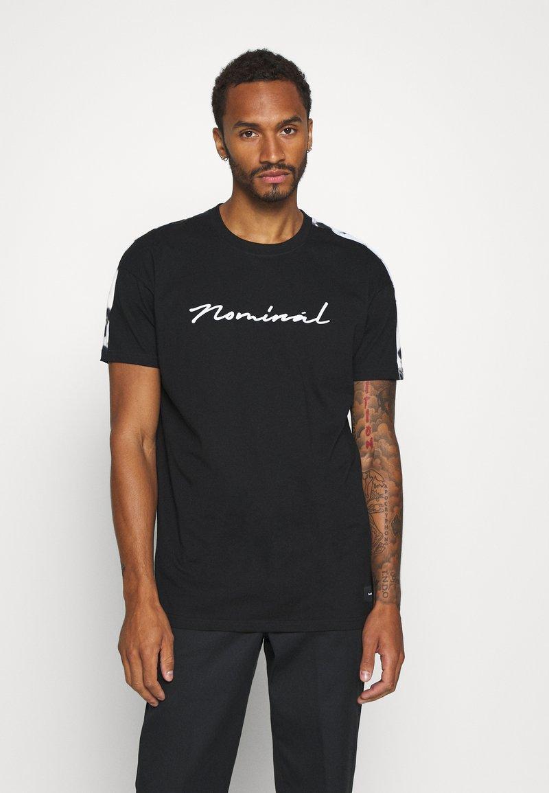 Nominal - RONNI TEE - Print T-shirt - black
