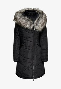 ONLY - ONLLINETTE HOOD COAT - Winter coat - black - 0