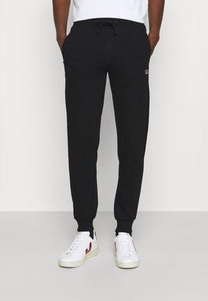 ERNEST - Teplákové kalhoty - black