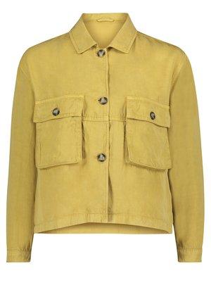 MIT AUFGESETZTER BRUSTTASCHE - Summer jacket - antique gold