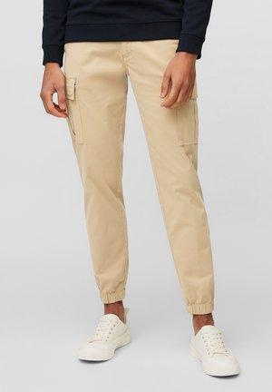 Cargo trousers - nordic beige
