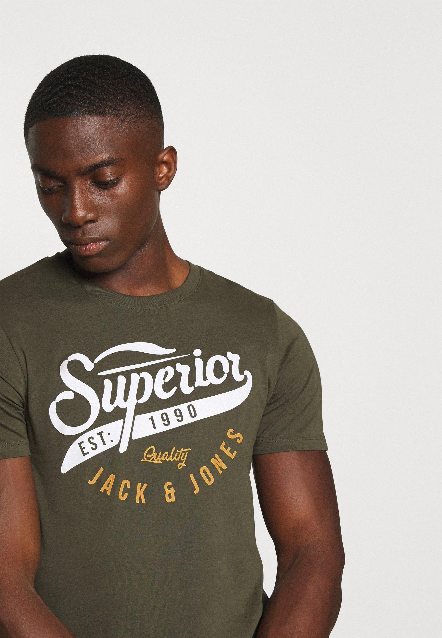 Men JJELOGO TEE - Print T-shirt