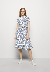 Polo Ralph Lauren - Shirt dress - white/dark blue - 0
