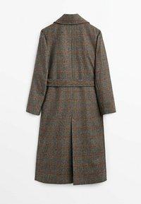 Massimo Dutti - Classic coat - grey - 5