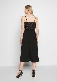 Anna Field - BASIC - A-line skirt - black - 2