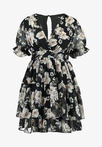 TFNC Petite - WINRY MINI - Day dress - black/white - 4