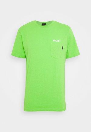 HYDRANT  - Print T-shirt - green