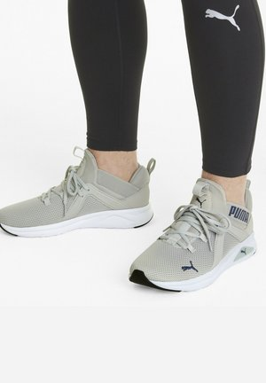 ENZO 2  - Sneaker low - gray violet-elektro blue
