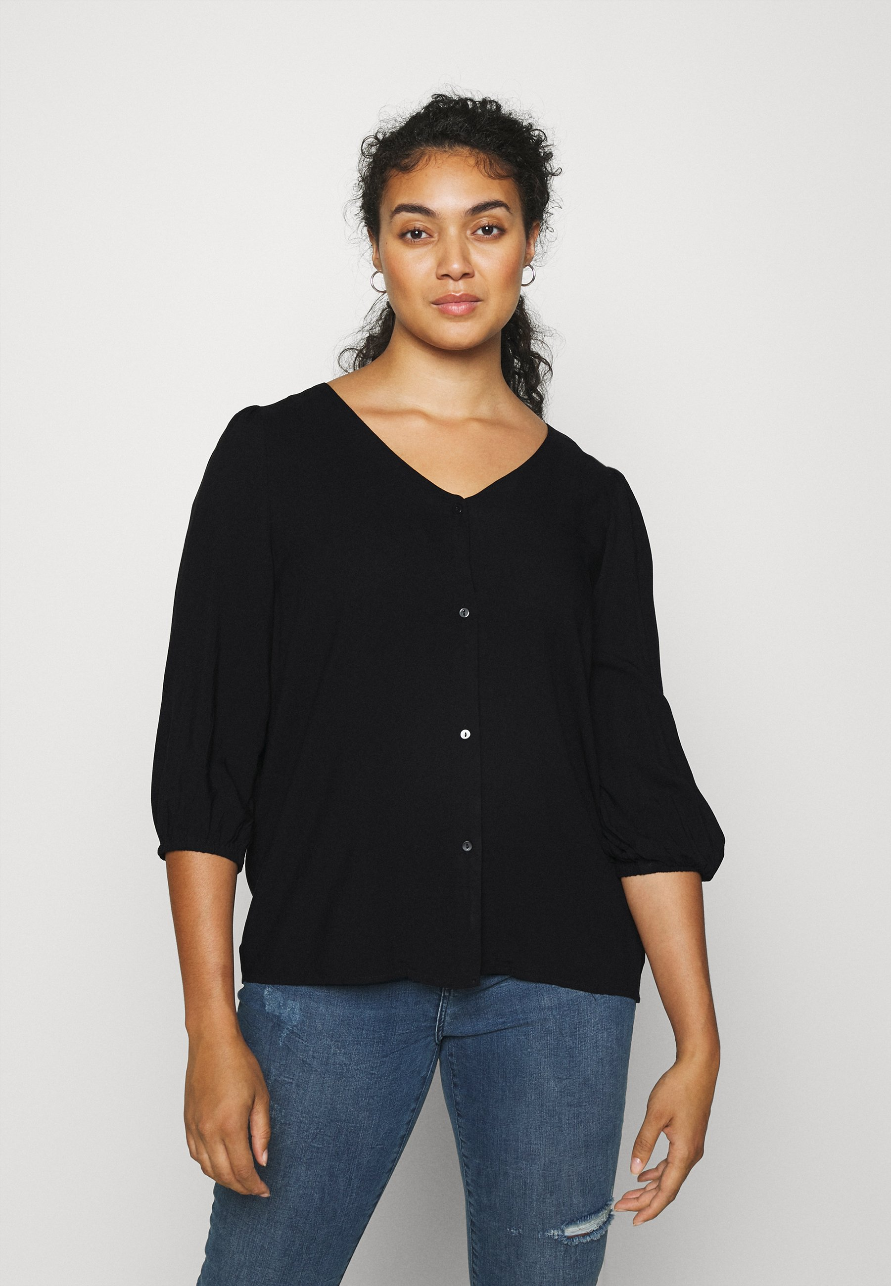 Donna CARDAZZ V NECK SHIRT SOLID - Maglietta a manica lunga