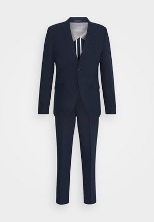 SLHSLIM MAHAN - Suit - dark blue
