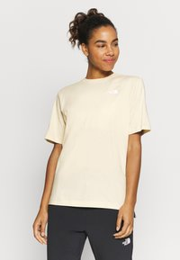 The North Face - LIBERTY TEE - Print T-shirt - bleached sand - 0