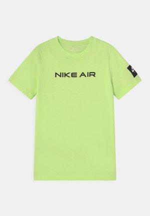 AIR - Print T-shirt - liquid lime