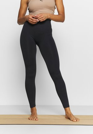 FLEX LEGGING SEAMLESS - Trikoot - black