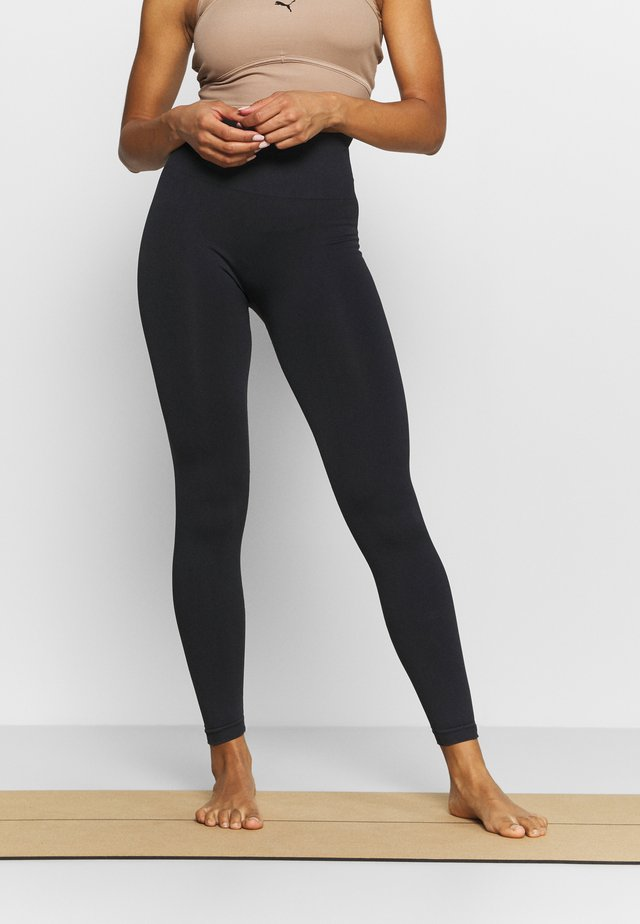 FLEX LEGGING SEAMLESS - Leggings - black