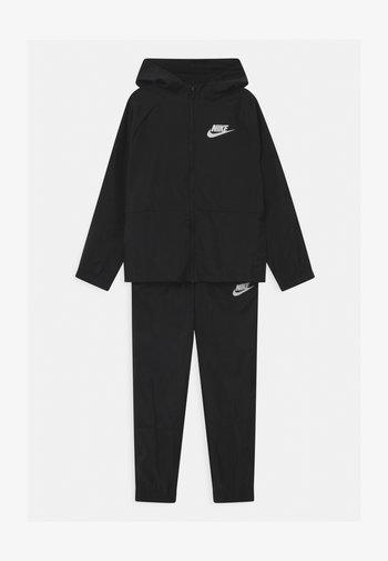 SET UNISEX - Training jacket - black/white