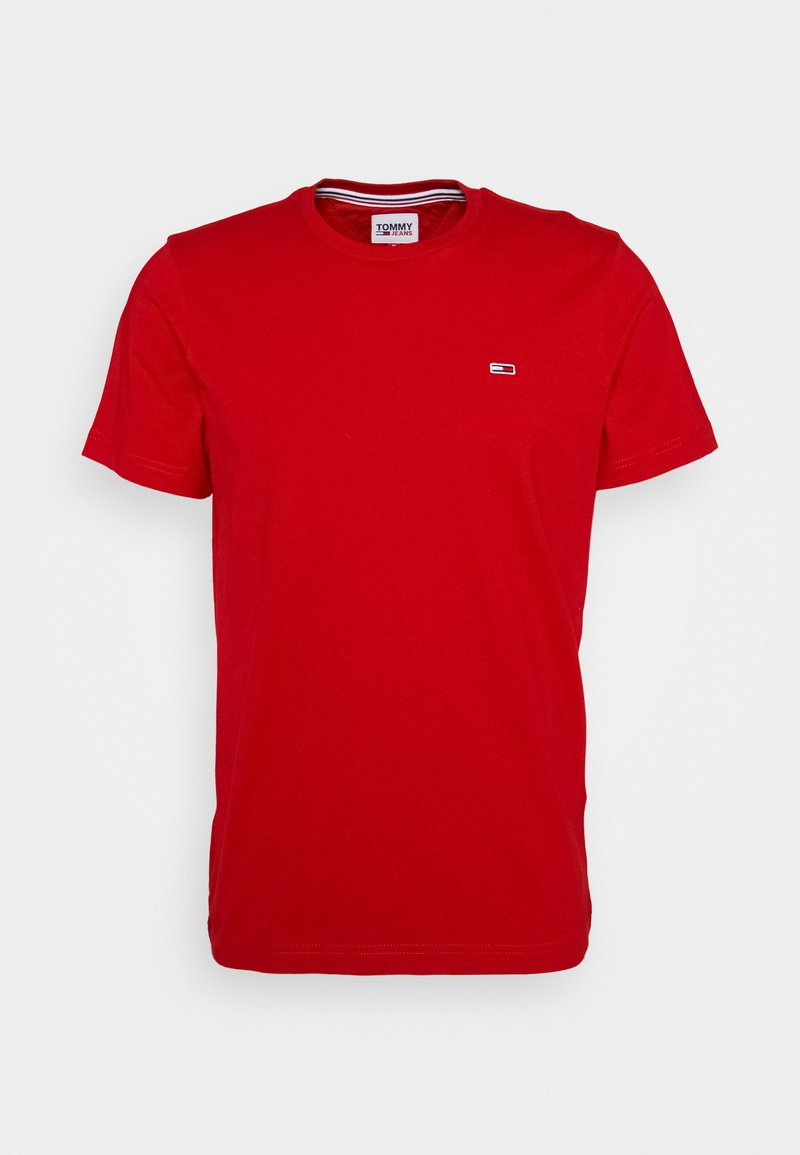 Tommy Jeans - CLASSICS TEE - Jednoduché triko - red