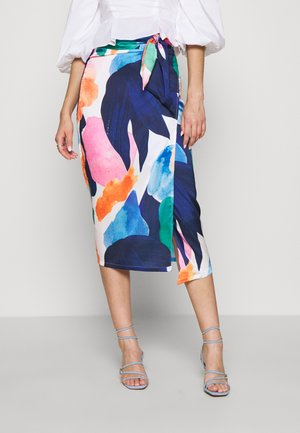ARTIST PRINT JASPRE SKIRT - Pencil skirt - blue/multi