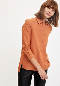 DeFacto - Button-down blouse - orange - 3