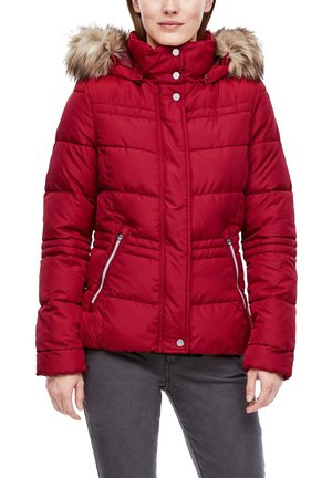 Winter jacket - brick red
