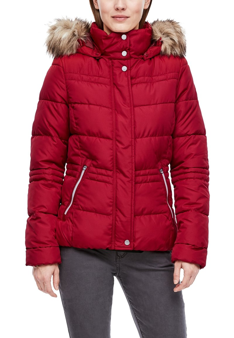 QS by s.Oliver - Winter jacket - brick red