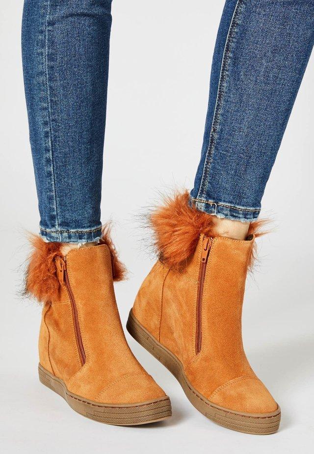 Vinterstøvler - kamel
