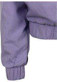 Urban Classics Curvy - LADIES LIGHT JACKET - Summer jacket - lavender/ultraviolet/white - 3