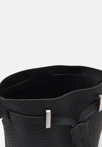 Furla - GIOVE MINI DRAWSTRING UNISEX - Across body bag - nero - 3