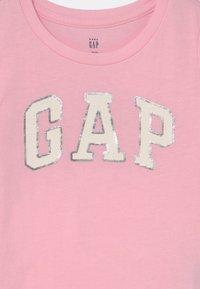 GAP - TODDLER GIRL LOGO - Triko spotiskem - old school pink - 2
