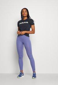 adidas Performance - Print T-shirt - legend ink/white - 1