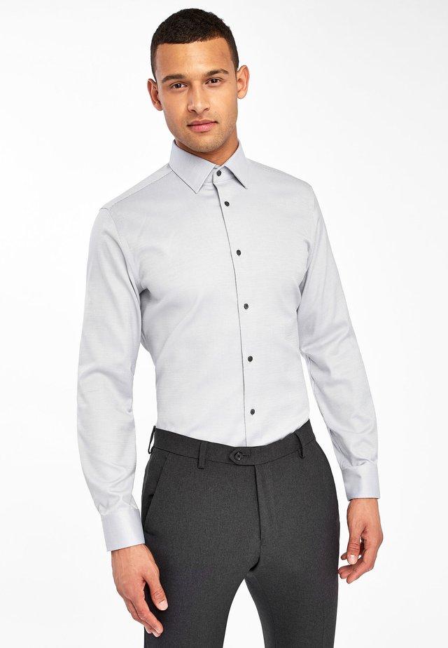 SLIM FIT - Formal shirt - grey