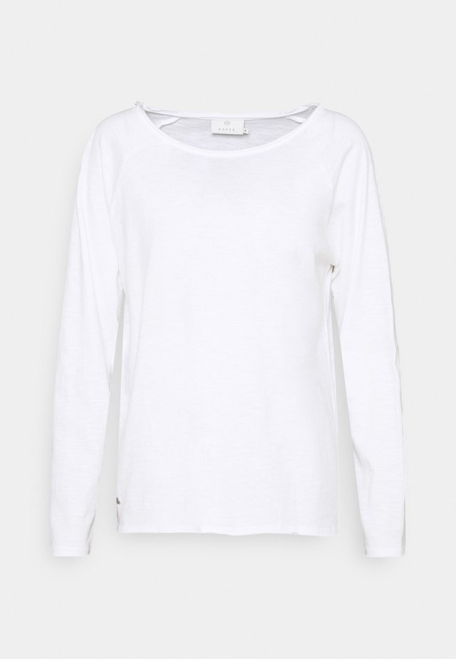 VITTA - Long sleeved top - optical white