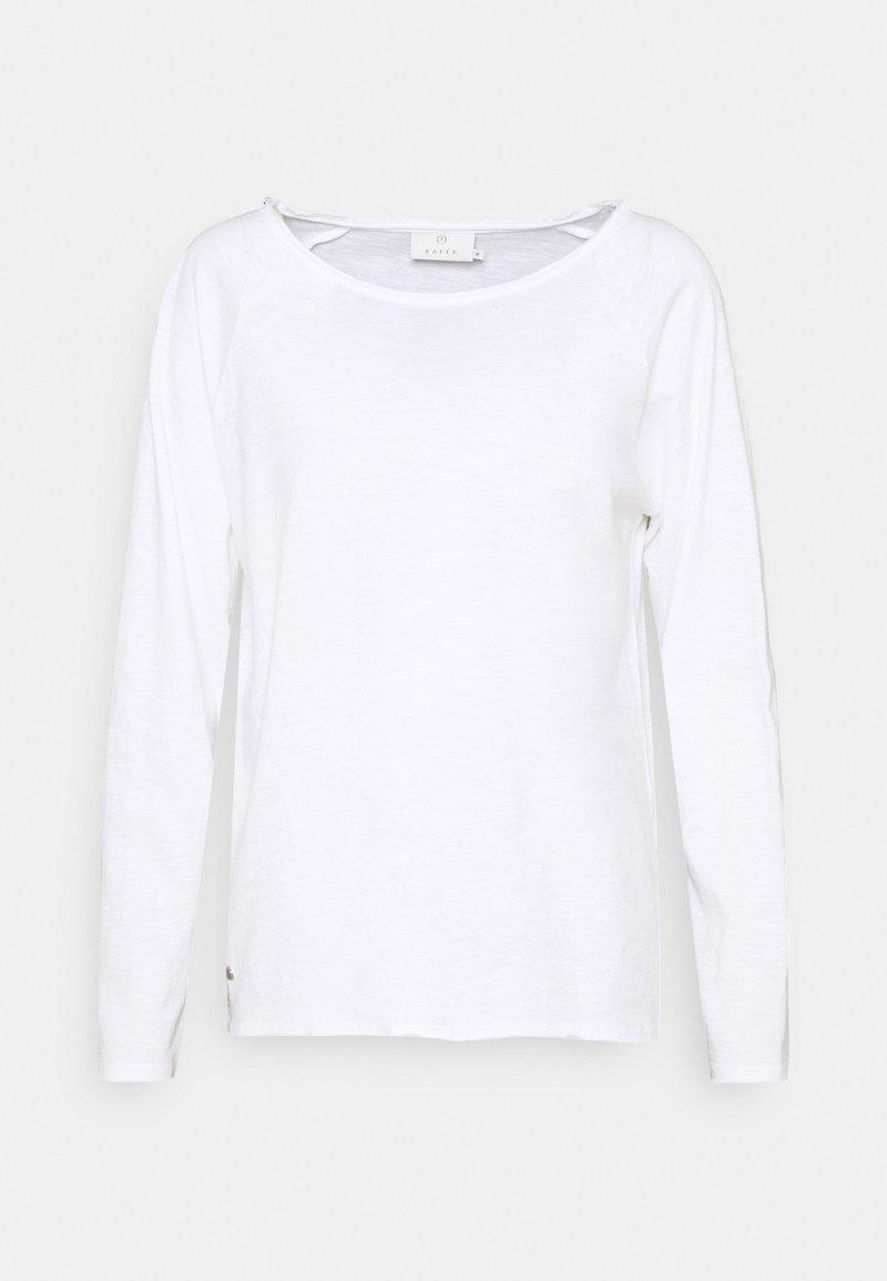 Kaffe - VITTA - Long sleeved top - optical white