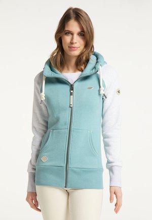 NESKA - Zip-up sweatshirt - arctic blue