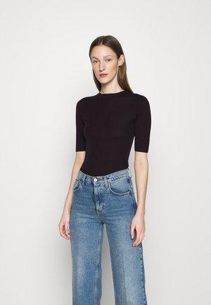ORVI - Jednoduché triko - burgundy