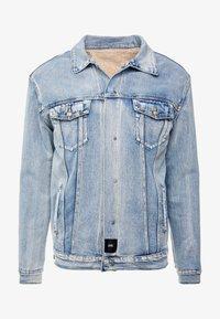 Sixth June - REVERSIBLE JACKET - Denim jacket - blue/beige - 5