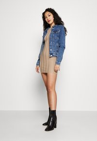 ONLY Tall - ONLTIA JACKET - Chaqueta vaquera - medium blue denim - 1