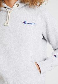 Champion Reverse Weave - HOODED - Hoodie - mottled grey - 5