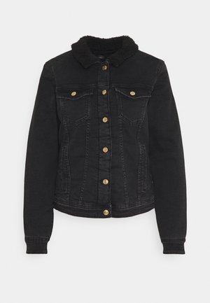 ONLTIA JACKET  - Denim jacket - black denim