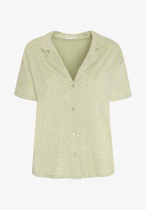 Pyjamashirt - green