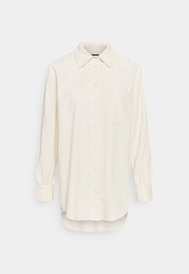 Button-down blouse - sea shell