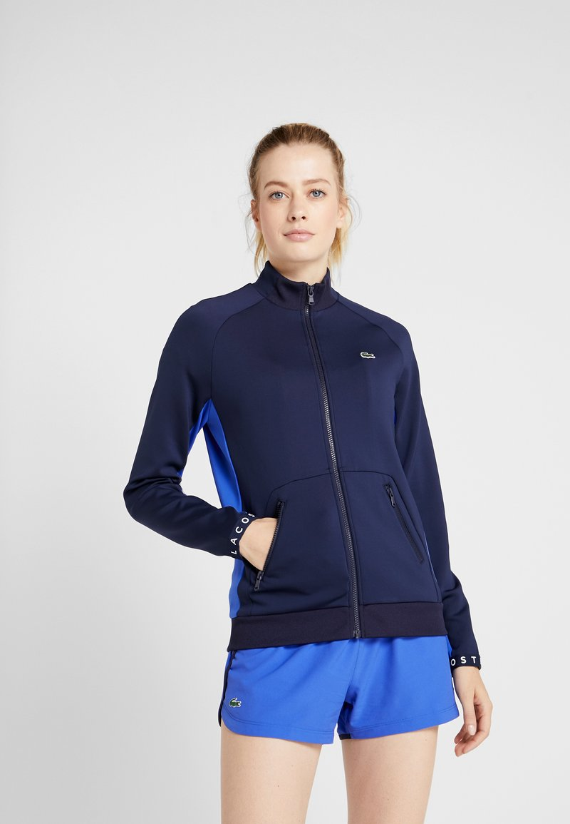 Lacoste Sport - TENNIS JACKET - Training jacket - navy blue/obscurity/white