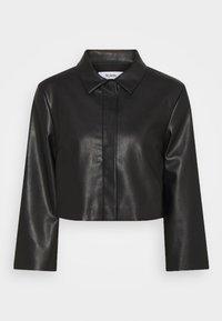 Stylein - VEREL - Faux leather jacket - black - 5