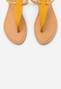 Anna Field - T-bar sandals - yellow - 5